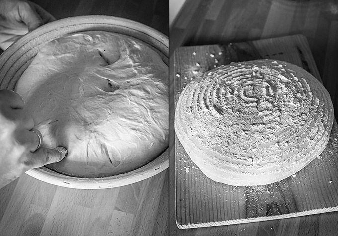 Explicación sencilla y con consejos sobre cómo usar la masa madre para hacer pan y convertir cualquier fórmula con levadura de panadería a masa madre