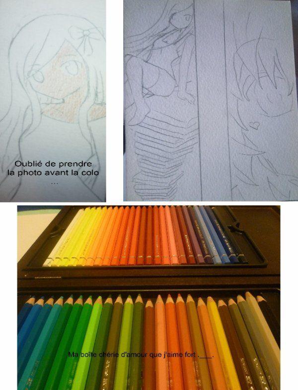 Tutoriel Coloration N 5 Les Crayons Aquarelles Crayons