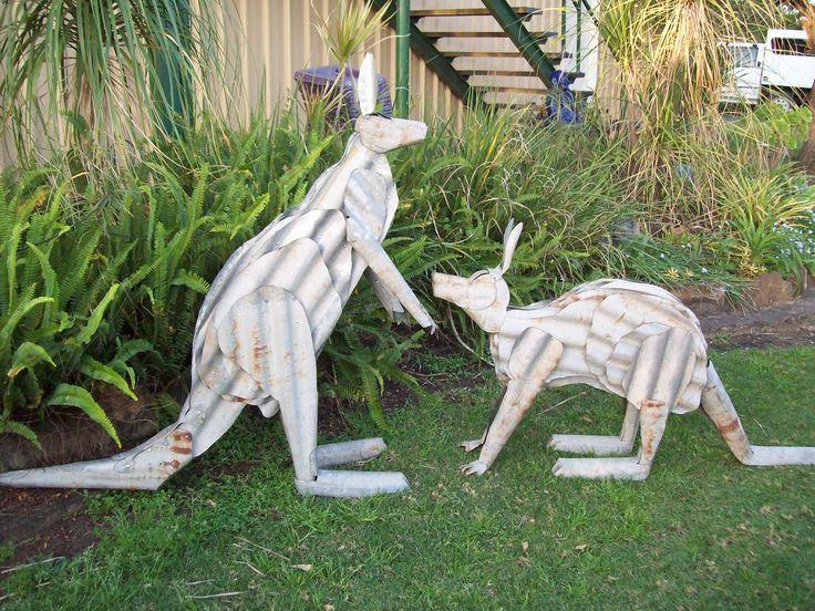 Corrugated Kangaroo's