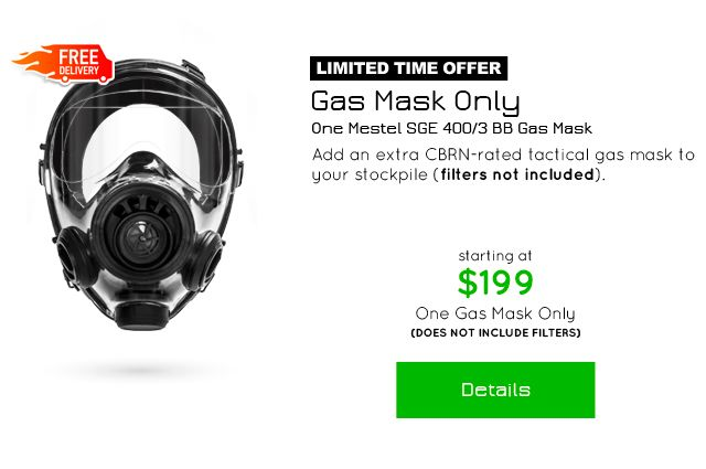 The World's Most Advanced Tactical Gas Mask