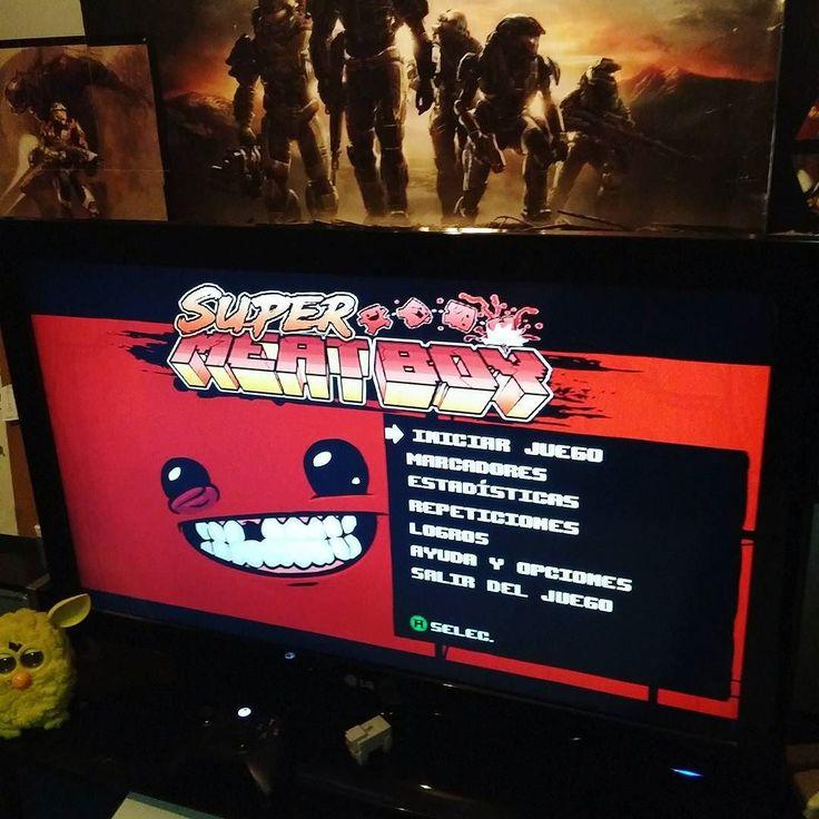 By cuacomon: Como que mientras se instalan los demás juegos #supermeatboy #meat #boy #meatboy #xbox #arcade #xboxlive #live #xbox360 #xboxone #arcade #micrhobbit
