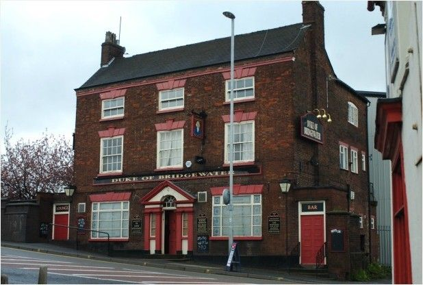 Duke of Bridgewater pub, Stoke-on-Trent