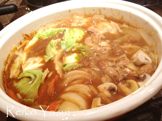 This is Curry Nabe. #nabe