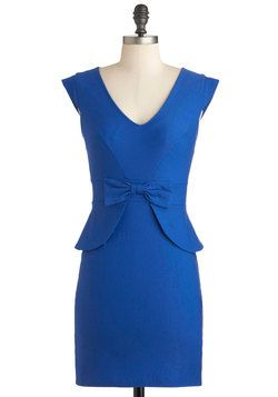 This fit like a glove. Maybe a bit too much around the middle. Panel Moderator Dress, #ModCloth
