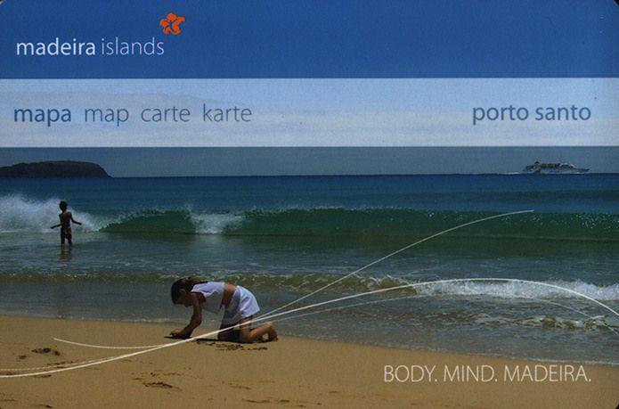 https://flic.kr/p/FwdnbK | porto santo, madeira islands  mapa map carte karte; Body.Mind.Madeira; 2006_1, Portugal overseas territory | tourism travel brochure | by worldtravellib World Travel library