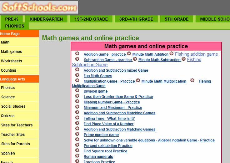 Division Worksheets » Division Worksheets Softschools - Preschool ...