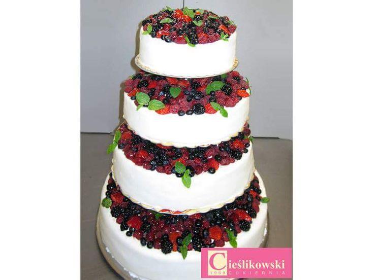 Owocowy tort.