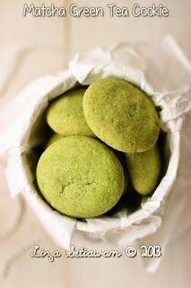 My life, my love, my food: Matcha Green Tea Cookie