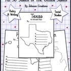 """This kit contains 51 acrostic poem sheets of the 50 states and one of the United States. They can be used for social studies, writing and poetry lessons. The sheets vary depending on the size and shape of the states and the length of their names. All are on 8.5"""" x 11"""" sheets and can be photocopied onto white or colored paper. Acrostic poem directions are also included."""