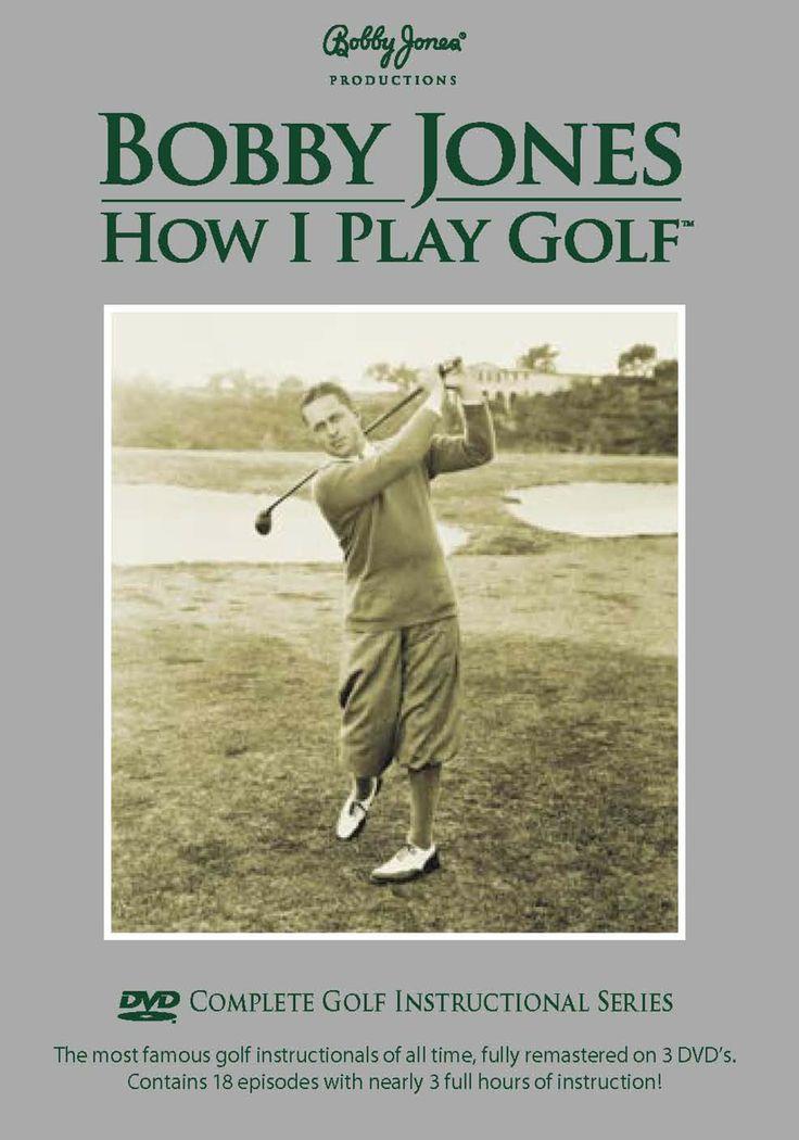 Bobby Jones: How I Play Golf DVD | Dream Golf | Pinterest | Golf, Golf accessories and Accessories