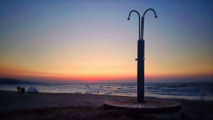 Sunset at Beach by burak karaca on 500px