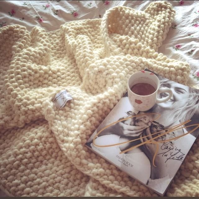 Udon Blanket Knitting Pattern Wool WE ARE KNITTERS KIT