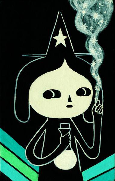 la alquimista / little witch  by Fio Zenjim 2010.