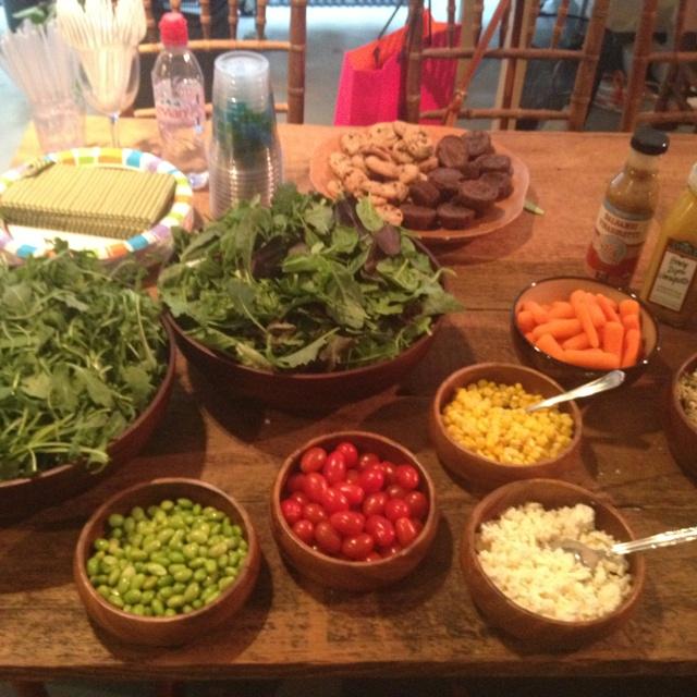 Salads, Bar and Salad bar on Pinterest