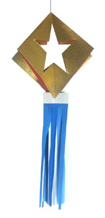 Origami Star Decoration2