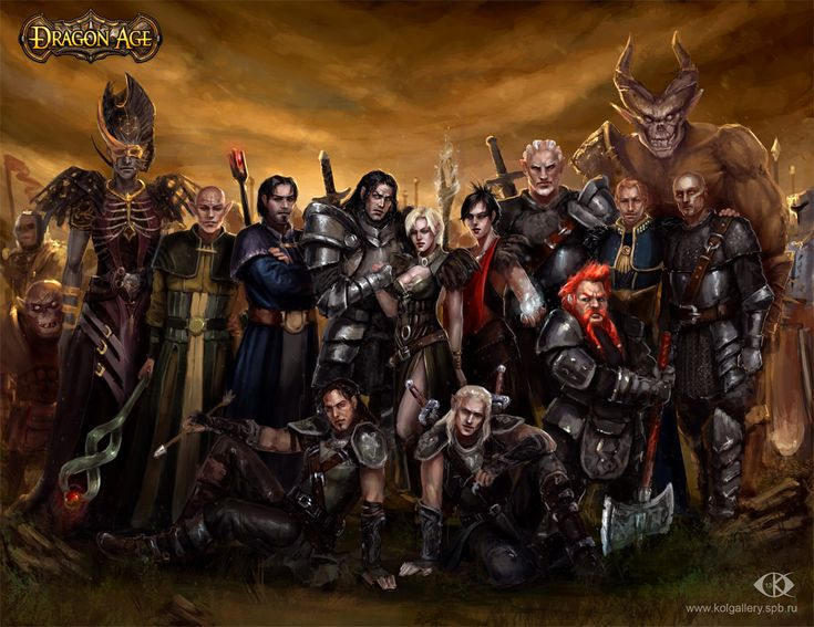 My Dragon Age. Commemorative picture by IcedWingsArt.deviantart.com on @deviantART