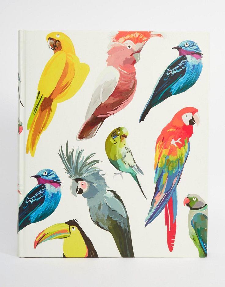 Image 1 - Paperchase - Let's Squawk - Grand album motif oiseaux