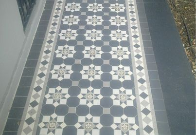 tesselated tile