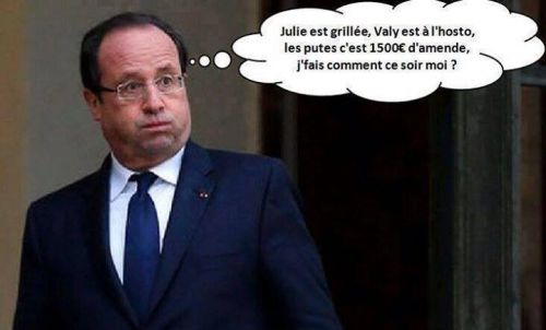 Franois Hollande nu? Marianne
