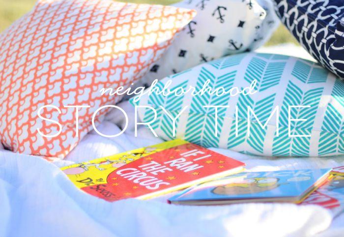 neighborhood story time || caitlin wilson textiles