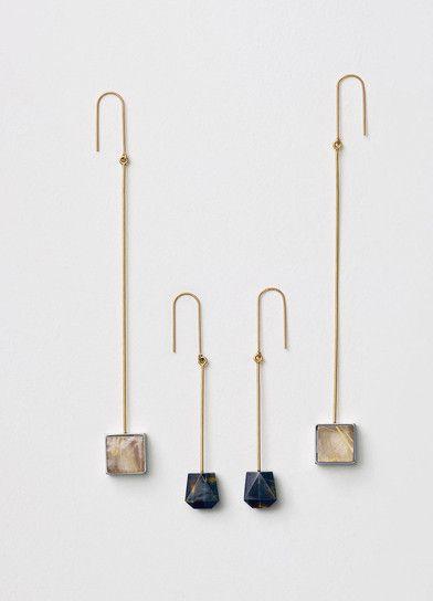 Céline Modernist Earrings