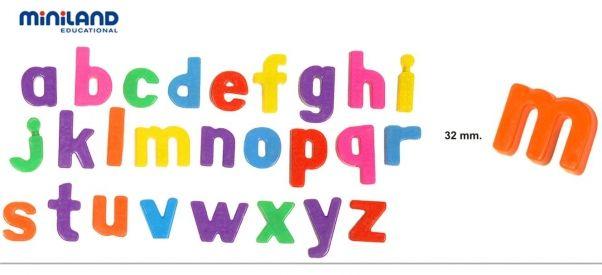 Letras Magnéticas Minúsculas 62pcs 8,90 E