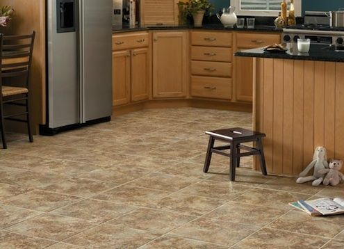 How to clean vinyl floors--vinegar, dish soap and baby oil--who knew?!