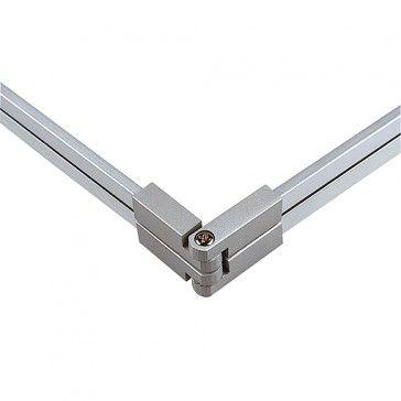 Flexverbinder für LINUX LIGHT, silbergrau / LED24-LED Shop