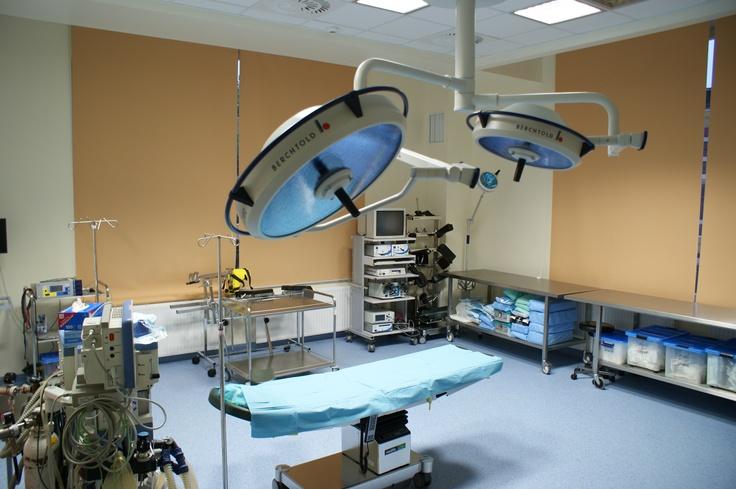 Blok Operacyjny II etap remontu - Szpital Zakonu Bonifratrów w Katowicach - inwestycja zakończona we wrześniu 2012 roku