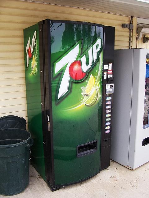New 7up Vending Machine Vending Machine Soda Snacks