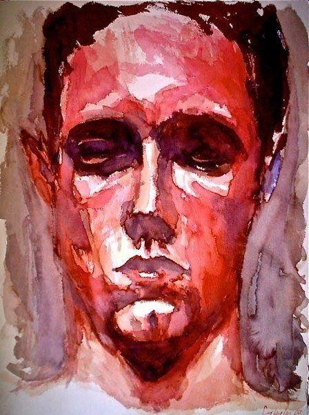 Face in Carmin