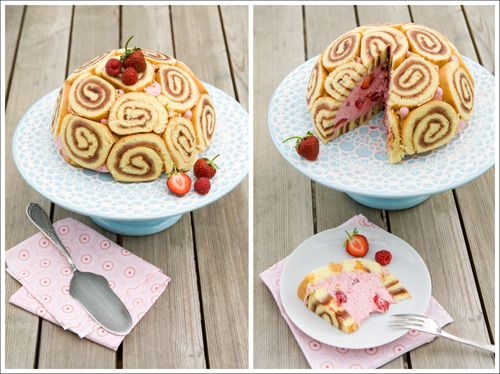 ... Charlotte Cake, Strawberry Raspberry Charlotte, Charlotte Russe