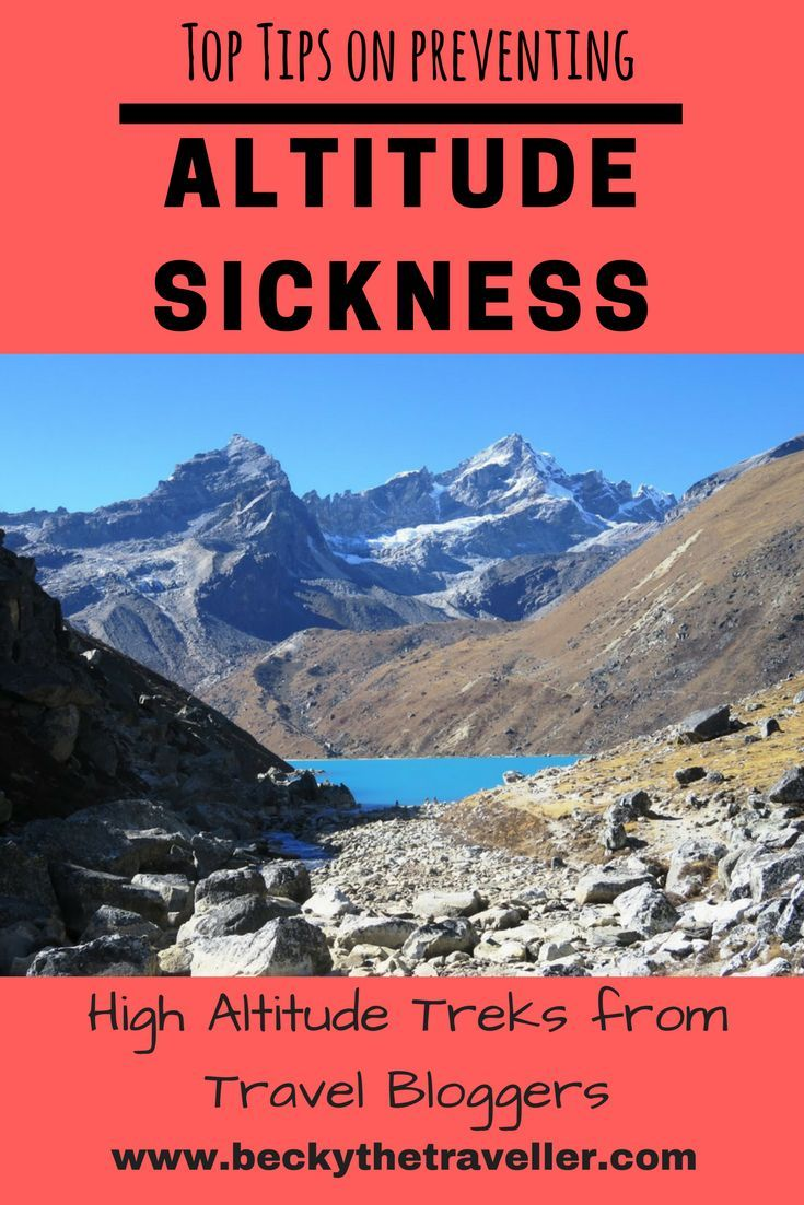 how to avoid altitude sickness when hiking