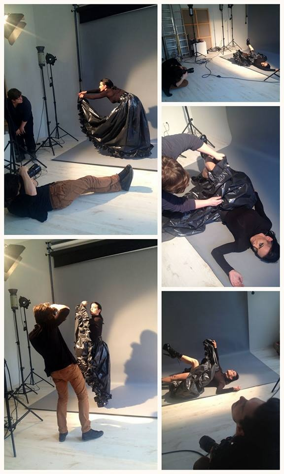 Yesterday's werk….   photo: Oleg Borisuk styling: Kissmark make up: Renáta Tolvai