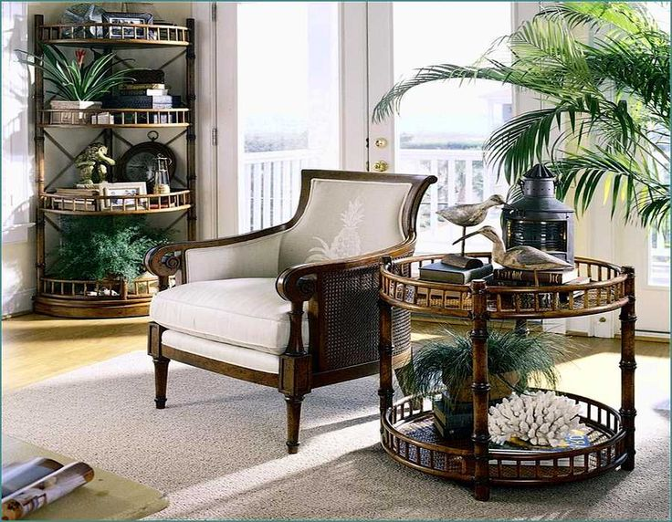 Tropical Living Room. See More. British Colonial Style