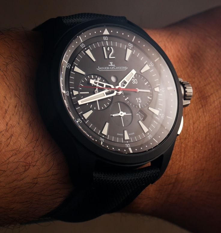 Jaeger-LeCoultre Master Compressor Chronograph Ceramic Limited Edition Watch Hands-On