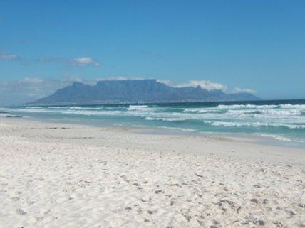 Table Mountain from Big Bay / Melkbosstrand