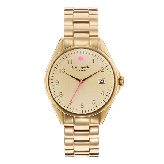 new line of kate spade watches..this will be my next purchase!: Birthday, Spade Seaport, Spade Gold, Spade Watches, Grand Watches, Graduation Gifts, Pink, Gold Watches, Seaport Grand