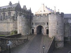 Stirling Castle- Scotland. Famous Castle of Mary Queen of Scots