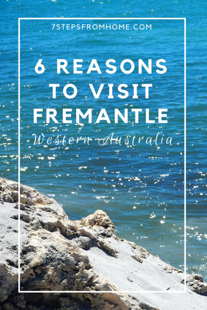 6 reasons to visit fremantle, western australia!