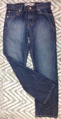 Levis 514 Jeans 29X30 Mens Slim Fit Straight Leg Pants Medium Wash Denim Blue