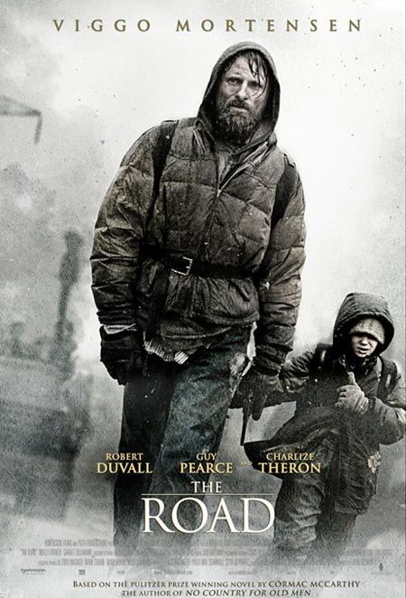 The Road is a 2009 post-apocalyptic drama film directed by John Hillcoat and written by Joe Penhall. Based on the Pulitzer Prize-winning 2006 novel of the same name by American author Cormac McCarthy, the film stars Viggo Mortensen and Kodi Smit-McPhee as a father and his son in a post-apocalyptic wasteland. Filming took place in Pennsylvania, Louisiana, and Oregon.