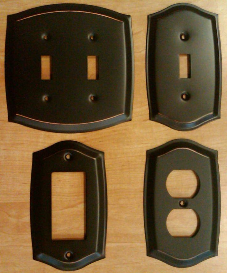 Details about Switch Plate Outlet Cover Wall Rocker Oil