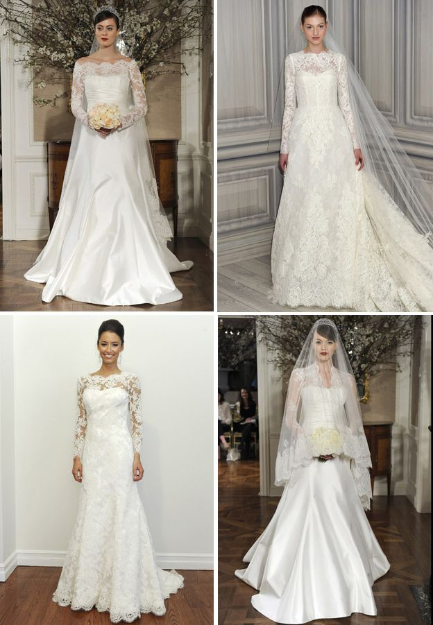 Gowns w/ Long Lace Sleeves my sis's dream dresses saved this for her