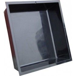 Polyester vijverbak vierkant - 150 x 150 x 35 cm - 735 liter  #vijvershop #vijvers #vijverbak