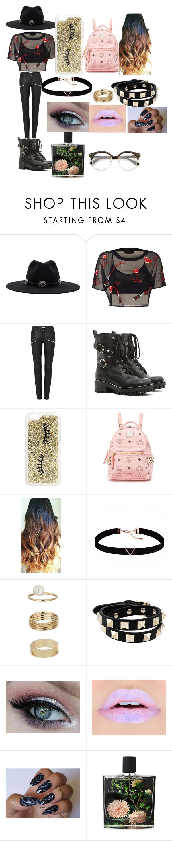 """Favorite Hat:Top Hat"" by hotpink179 ❤ liked on Polyvore featuring Brixton, RED Valentino, Miss Selfridge, MCM, Astrid & Miyu, Valentino, Nest Fragrances and fashionset"