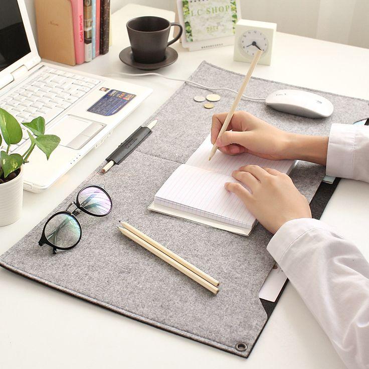 2016 новый современный настольная чувствовал офисный стол коврик прочный…