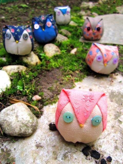 """""""nette""""  little owl tutorial"""