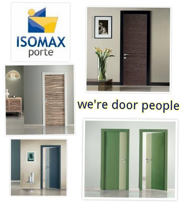 cuz we're #door people #Isomax #porte