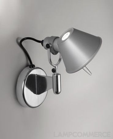 Artemide Tolomeo Micro Faretto Wall Lamp Lights U0026 Lamps   LampCommerce